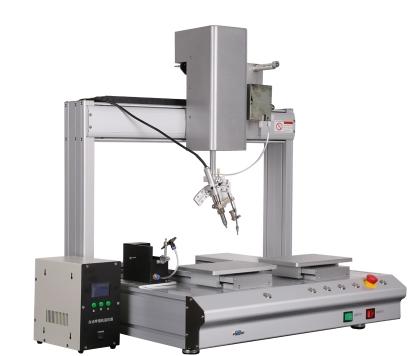 电子元器件焊锡机生产厂家_鲁工自动化_替代人工_大学士