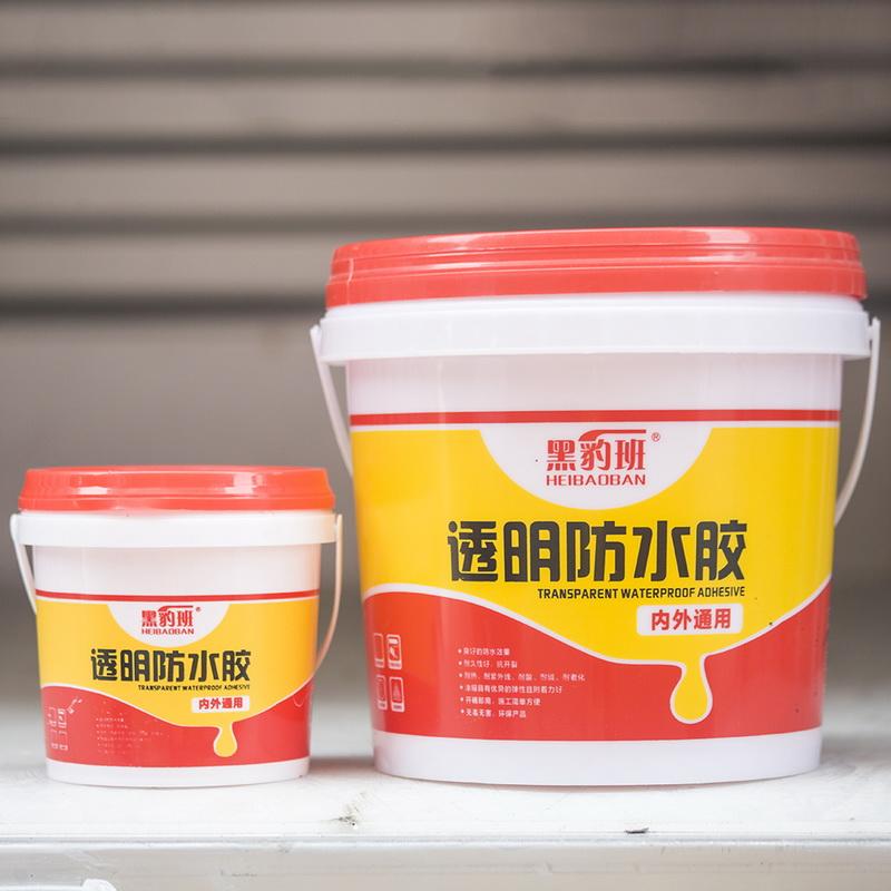 魯公建材_廣元衛生間透明防水膠透明防水膠生產廠家_屋頂補漏防水膠