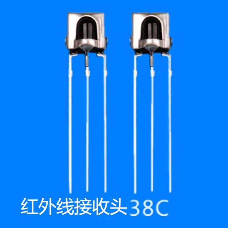 插件_杭州电视机红外线接收头38_立柏电子