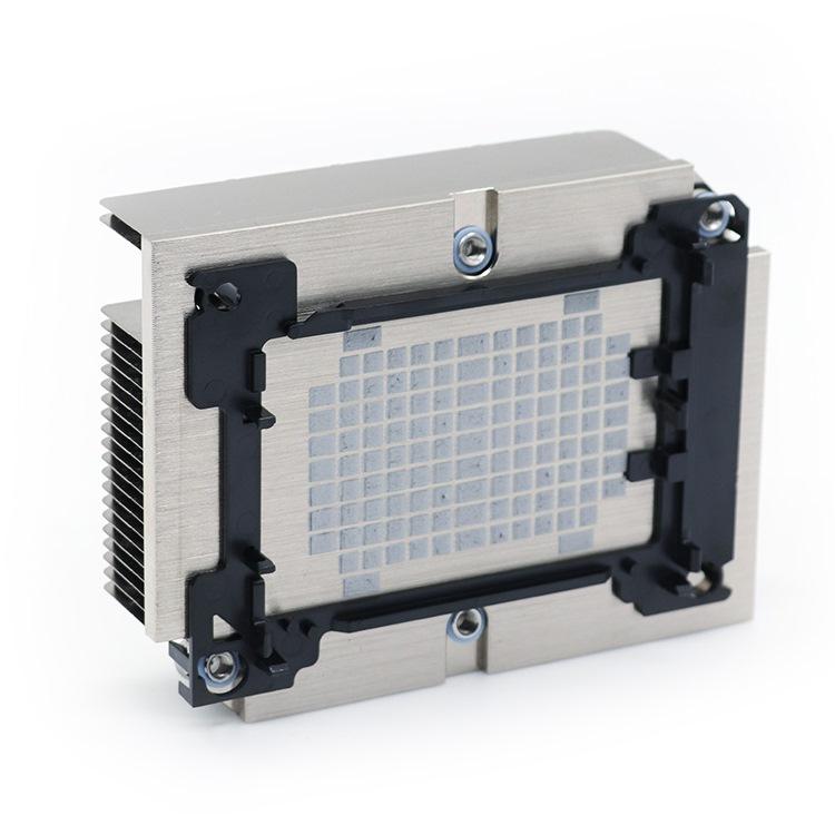 芯片散热器订做_立潮信息科技_压铸_工业_铜铝_CPU_插片式
