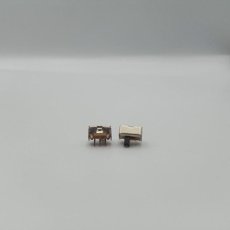微型_横向横柄拨动开关加工_力达电子