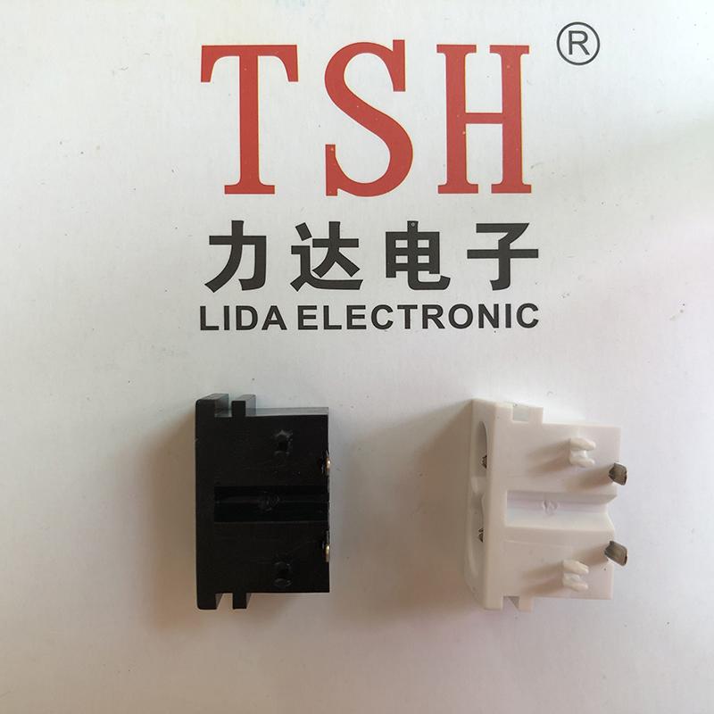 三孔AC插座生產企業_力達電子_推動開關_歐規_三孔_機箱