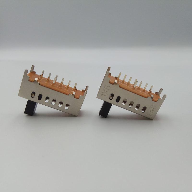 力達電子_插座_太原小型直柄撥動開關加工定制