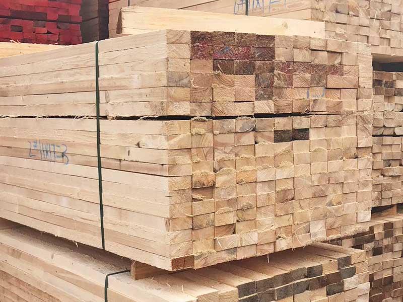 國產云杉木方加工