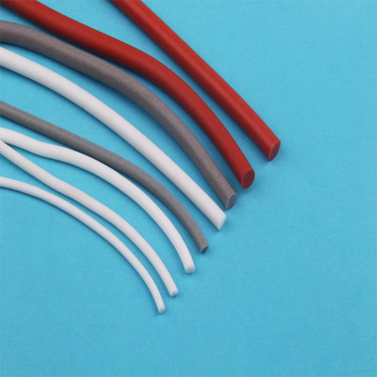 緩沖_方型發泡條外觀_弘祿硅橡膠