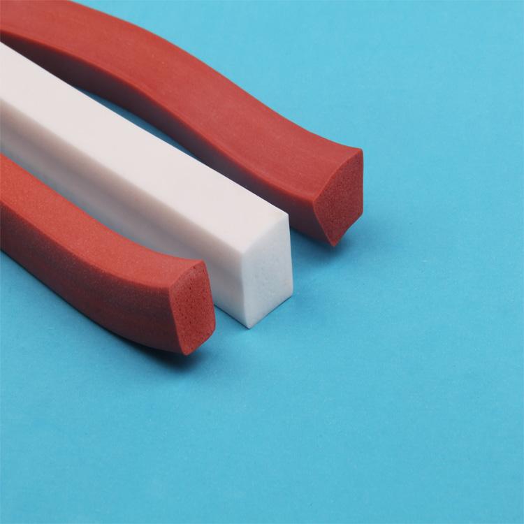 高韌性發泡條廠家_弘祿硅橡膠_紅色_洗衣機_硅膠_顯示屏