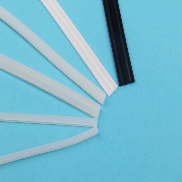 e型_環保異形硅膠條生產_弘祿硅橡膠