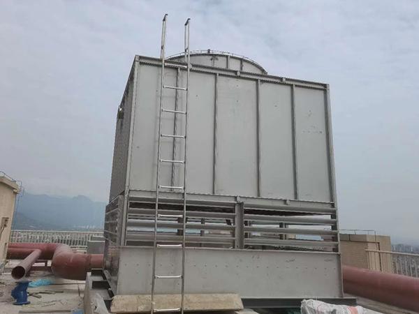 頂樓全鋼冷卻塔組裝