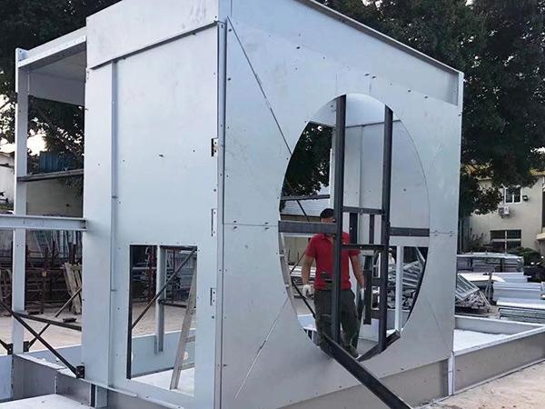 全鋼冷卻塔廠家組裝