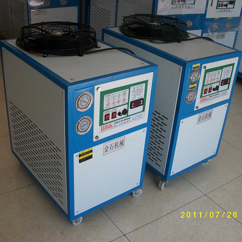 注塑冷凍機廠_菱研機電_低溫_螺桿_風冷_吹塑機_小型_大型