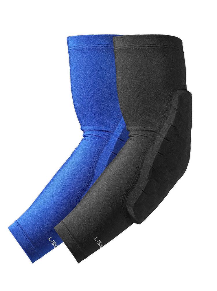 籃球跑步運動防護護臂肘薄款男女
