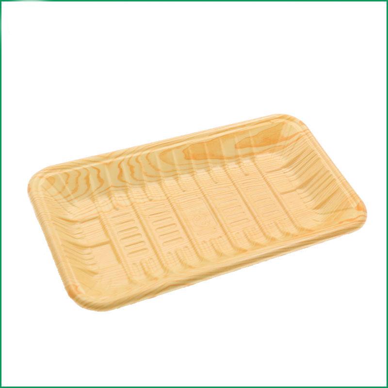 花紋生鮮托盤訂制_立洋包裝_食品級_防霧_超市_塑料_水產_打包