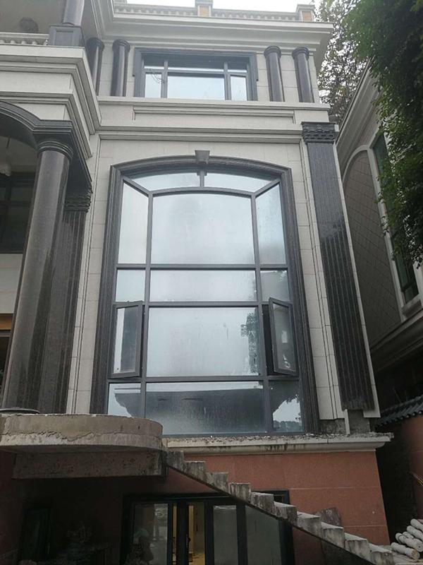 防盜網_50系列鋁合金門窗價格_龍澤門窗