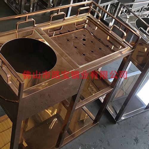三层式茶水车