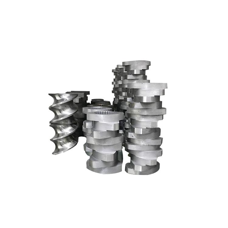 定制双螺杆挤出机螺套工厂_路隆机械_订做_非标_专业定制_塑料