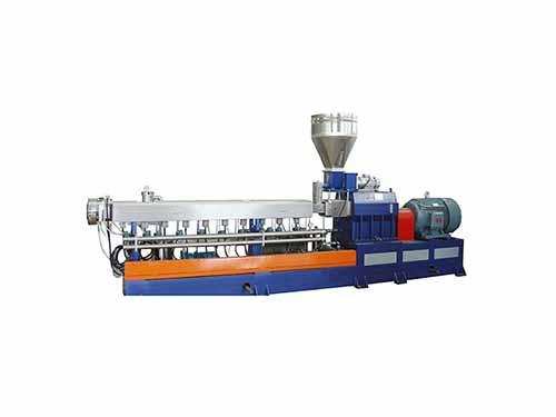 填充改性双螺杆挤出机芯轴_路隆机械_尼龙加纤_36_积木式_PS