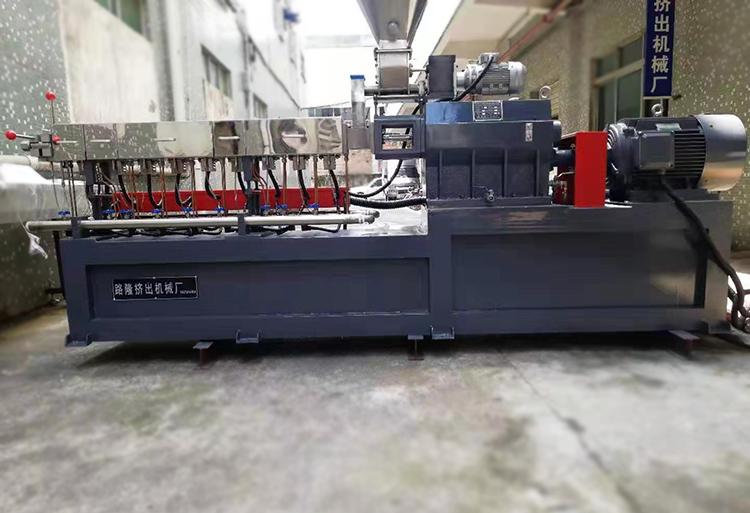 95_新型雙螺桿塑料造粒機供應_路隆機械