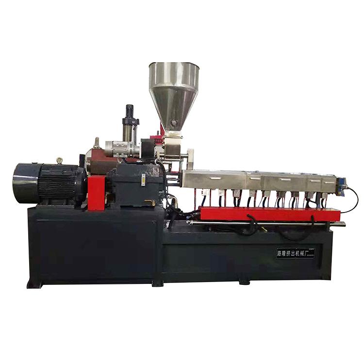 SEBS水環切雙螺桿擠出機螺桿_路隆機械_85_加強型_片材