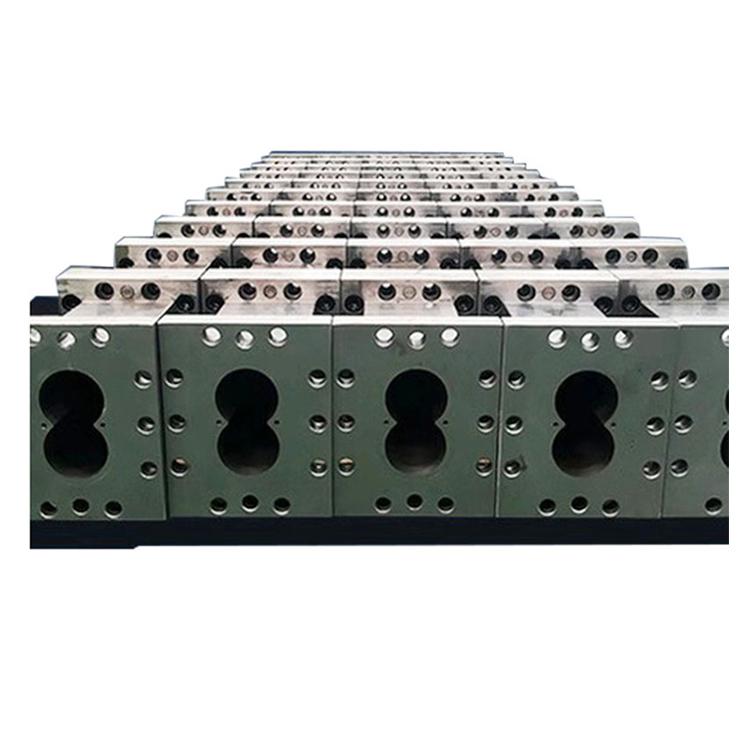 積木式雙螺桿擠出機定制_路隆機械_60_微型_PET毛刷絲