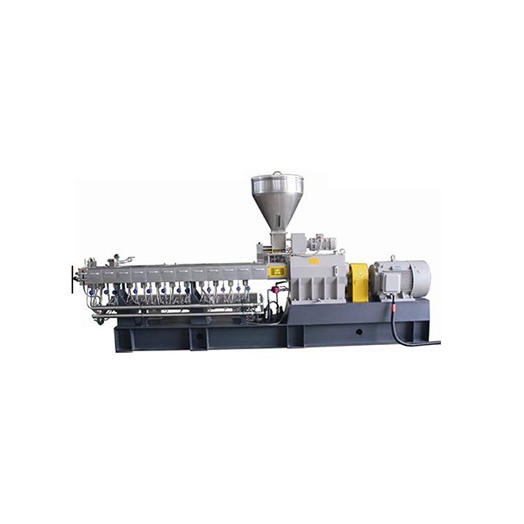 同向双螺杆挤出机订做_路隆机械_废料_PET扫把丝_实验型_路隆塑料机械制造