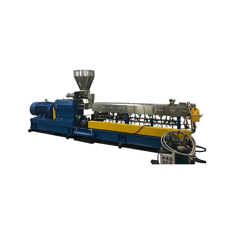EVA专用双螺杆挤出机定做_路隆机械_连续密炼_积木式_功能色母_路隆塑料机械制造