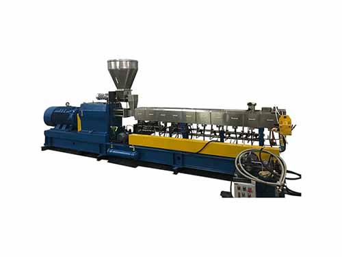 路隆機械_PE水拉條_PET雙螺桿擠出機制造廠家_路隆塑料機械制造