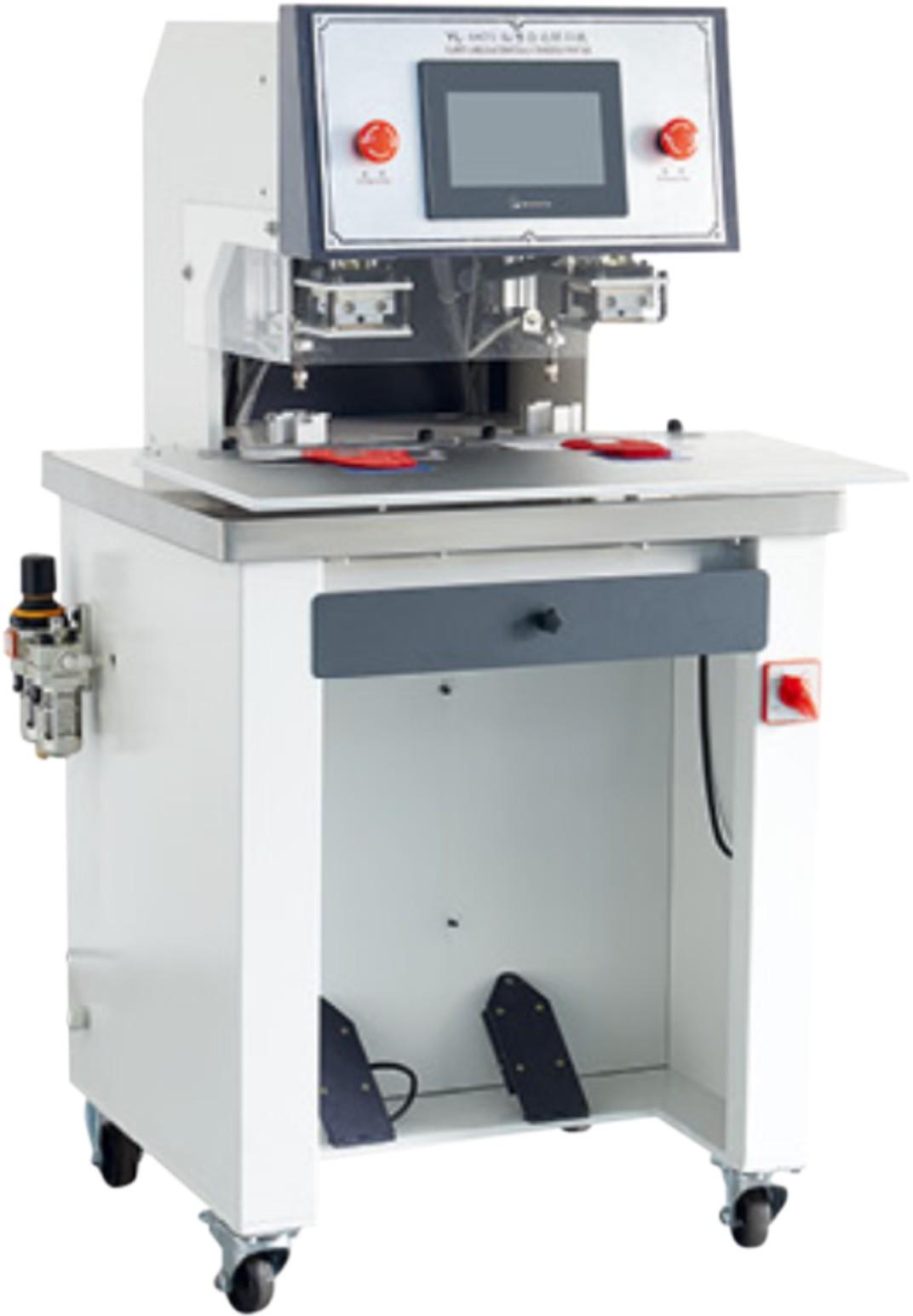 LX-3017 雙頭雙工位燙標機