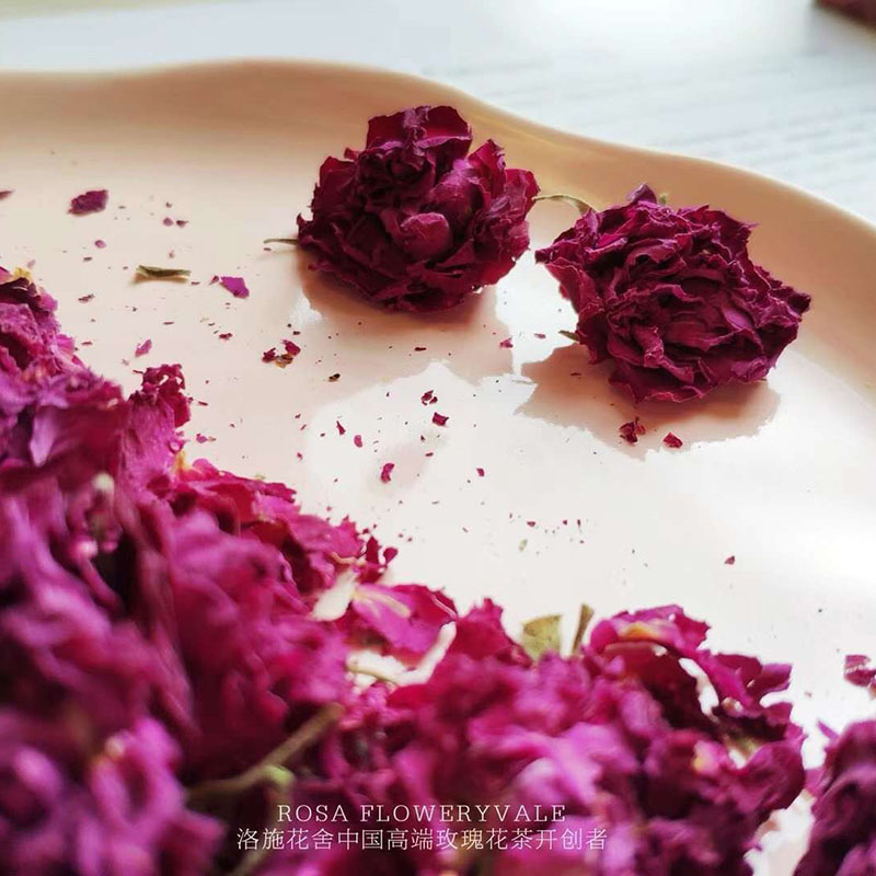 和胃养肝玫瑰花茶礼盒优选_洛施花舍_正品_可长期饮用_低温烘焙