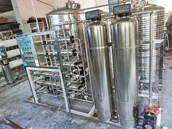 0.5吨双级纯化水