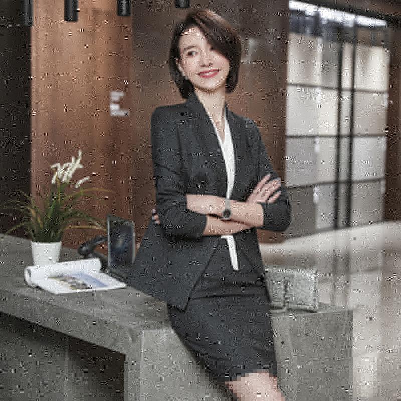 新品_潮州女职业装批发厂家_靓兴制衣