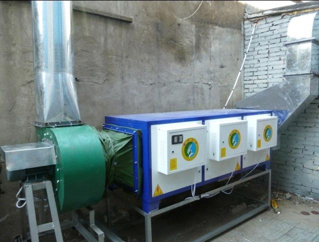 供应深圳厨房排烟工程,厨房油烟净化设备