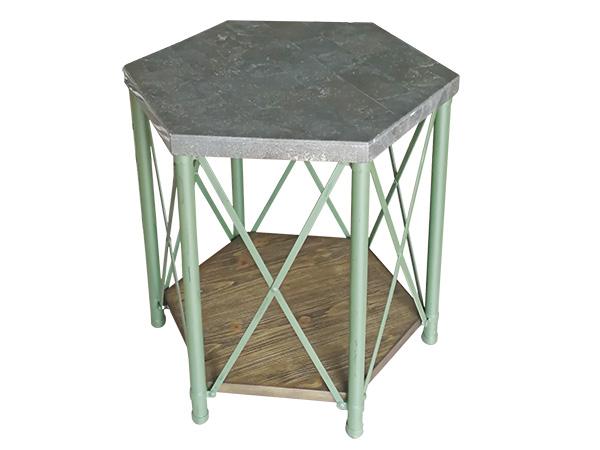 六边形时尚边桌