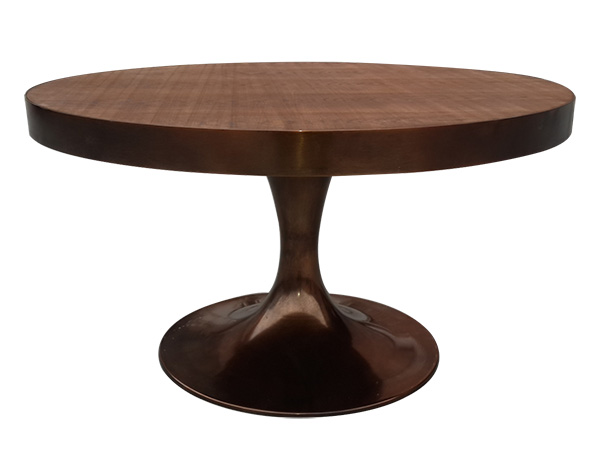 圆形复古咖啡桌