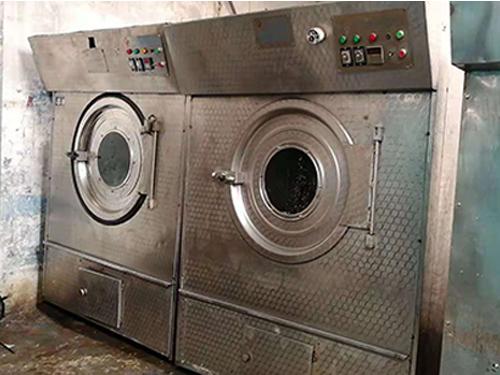 浙江布草烘干機多少錢一臺_萬眾洗水設備_小型_煤氣_布草_工業