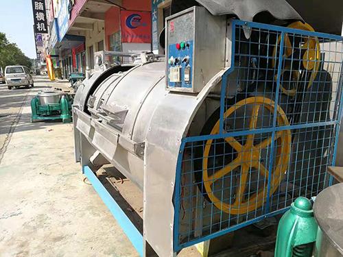 半自動_布草洗水機公司_萬眾洗水設備