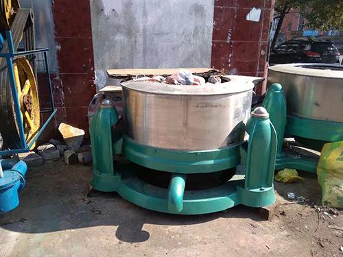 紹興小型脫水機_萬眾洗水設備_洗滌機械_床單_大型_半自動_洗衣
