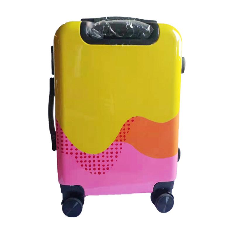 江蘇戶外旅行拉桿箱如何買_美陽_無印_小型_公文箱_PC拉鏈_美陽箱包
