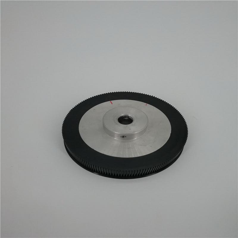 塑料同步轮制造商_明德塑胶_塑胶_金属_写真机_直孔_8m