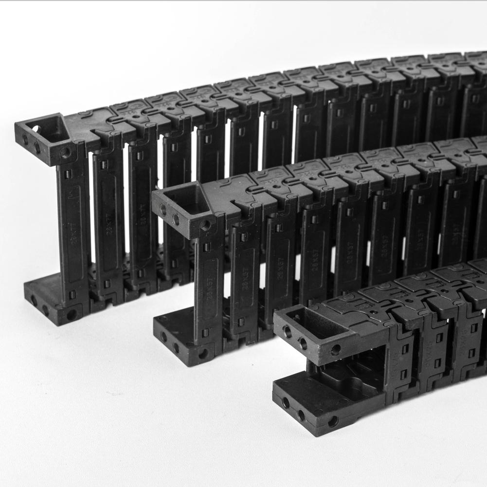 雕刻机静音拖链价格_明德塑胶_自动化桥式尼龙_平板机_机械_机床