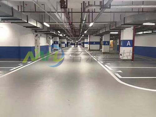 地下停车场PVC防静电地坪