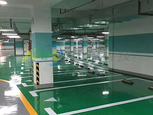 停车场环氧树脂地坪