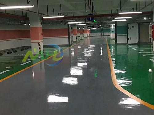 东莞停车场环氧树脂地坪