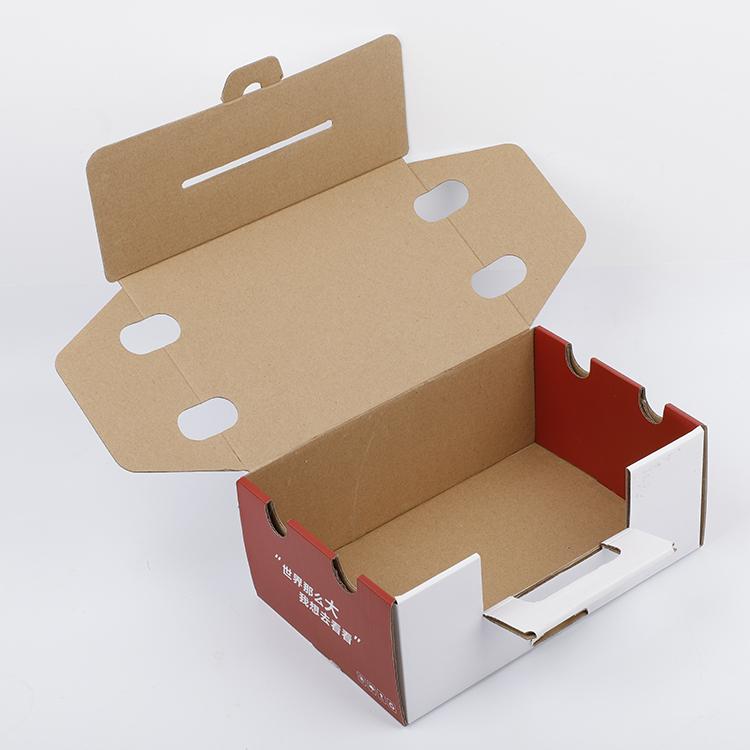 环保手提彩盒订制_明睿包装_环保_成品_方形_水果_灯具_礼品
