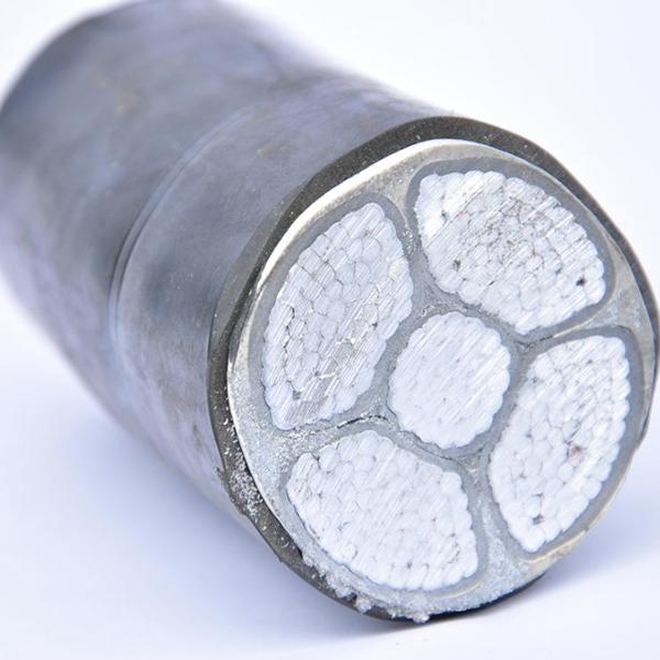 YJLV铝芯交联聚乙烯绝缘低烟无卤阻燃聚氯乙烯护套铝电缆