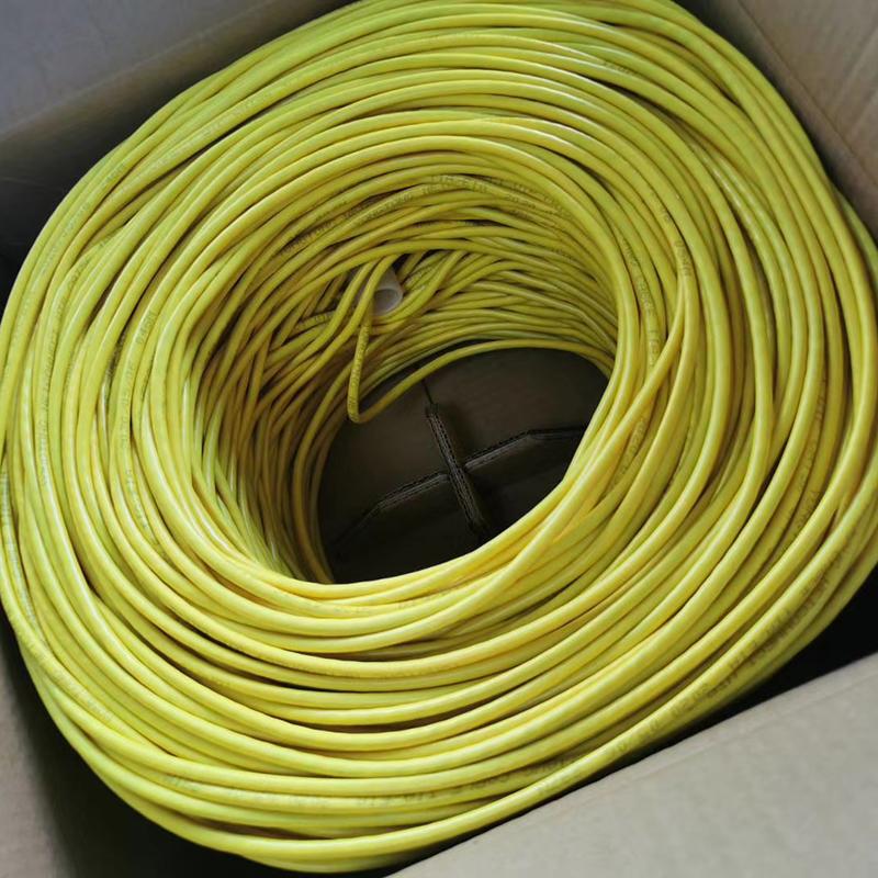 超五类无氧铜双屏蔽网络线