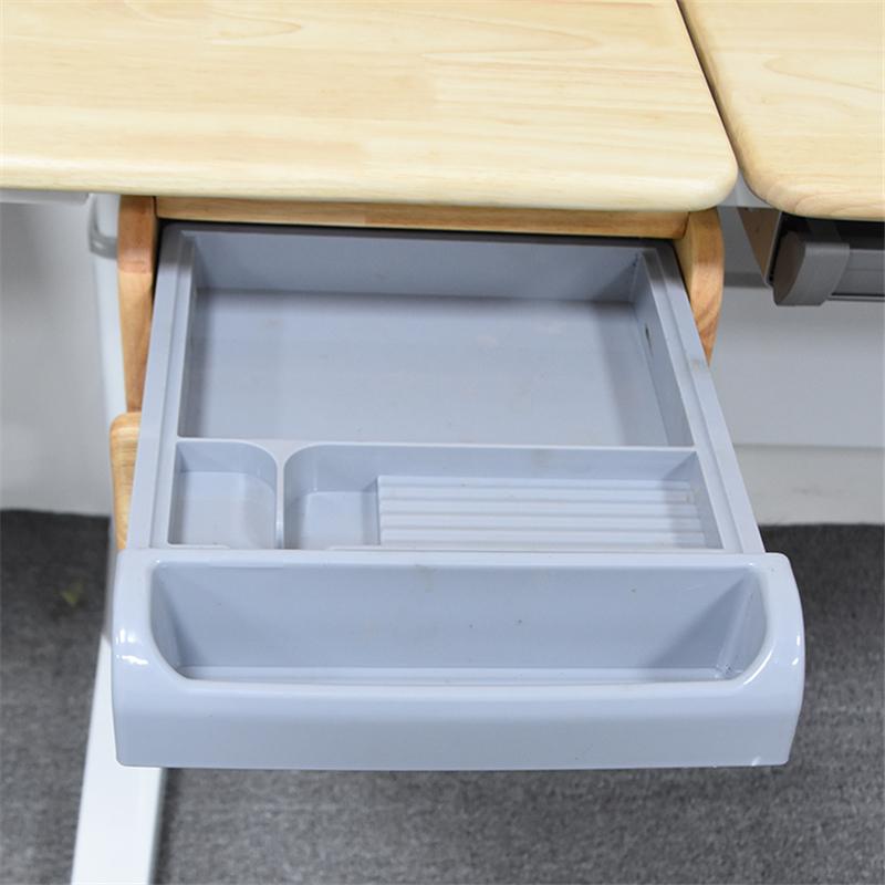 抗冲击强塑料抽屉滑轨制作_敏源金属家具_二节_学习桌_大空间