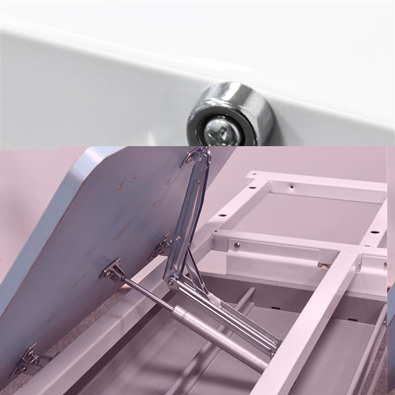 玻璃钢学习桌阻尼器现货_敏源金属家具_铝合金_学生_欧式_升降