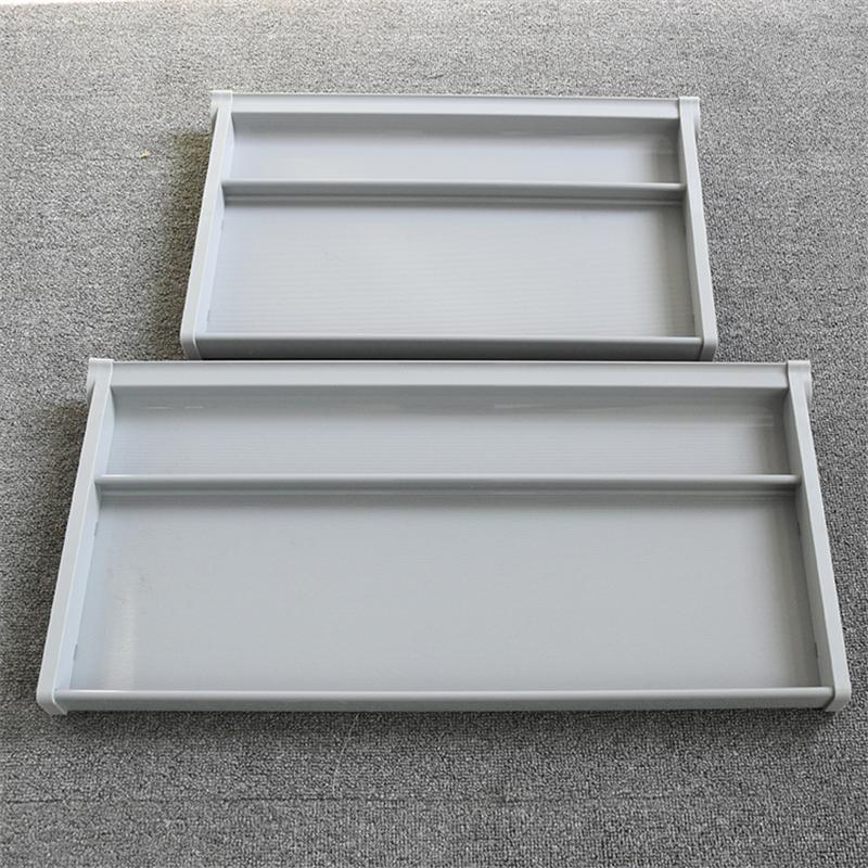 12寸_可更换塑料抽屉滑轨生产_敏源金属家具