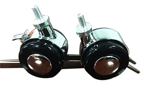 東莞PP腳輪廠家直銷 美碩五金 承重 拉桿箱 防滑 安全 電器