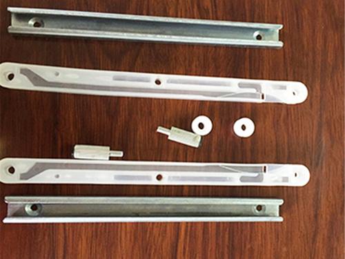 東莞組合式滑軌生產 美碩五金 塑膠 五金 固定 三節滾珠 外露式